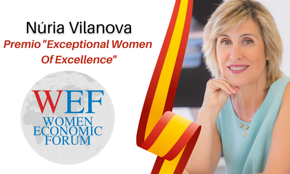 "Premio ""Exceptional Women Of Excellence"" por el Women Economic Forum"
